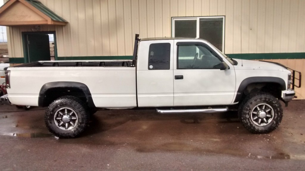 Chevy Silverado Lifted For Sale >> 1995 Chevy 2500 Silverado 4×4 Lifted, Extended cab, New 35's, 350v8, for sale