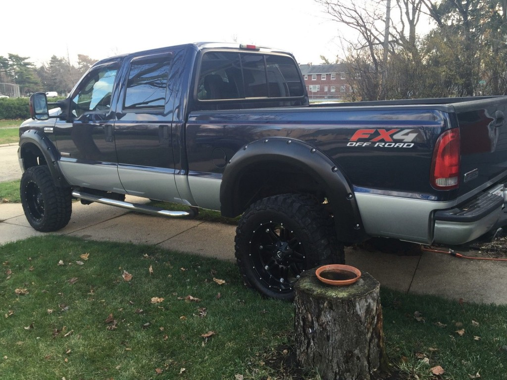 2005 Ford F 350 35 Muddders 5 Lift For Sale