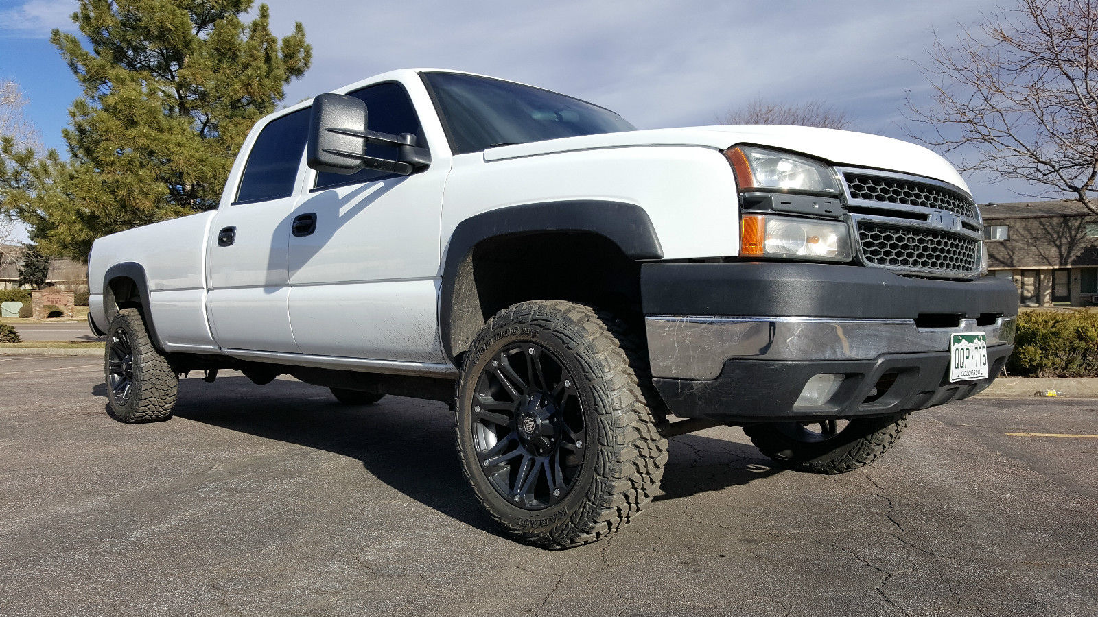 Cheap Mud Tires For Trucks >> 2006 Chevy Silverado 2500hd 6.0 Auto Crew Cab Longbed 4×4 Lift Kit for sale