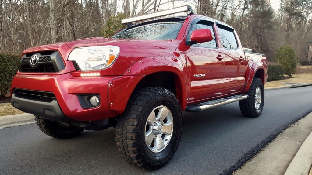 2009 Toyota Tacoma Pre Runner TRD Sport Crew Cab Pickup LIFTED for sale