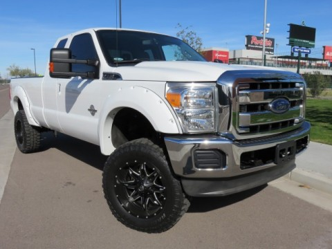 2012 Ford F350 Super Duty XLT, 6.7L Diesel, 4×4, Supercrew, 4″ Lift, 35″ Tires for sale