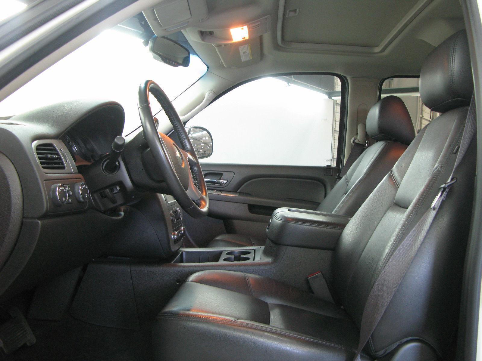 2013 Chevrolet Silverado 1500 4WD LTZ Crew Cab 4 Door 6.2L Lifted