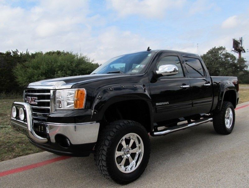 Custom Lifted Diesel Trucks For Sale >> 2013 GMC Sierra 1500 SLE Z71 4×4 Rocky Ridge Crew Cab for sale
