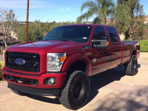 2014 Ford F 350 Super Duty Platinum Lifted for sale