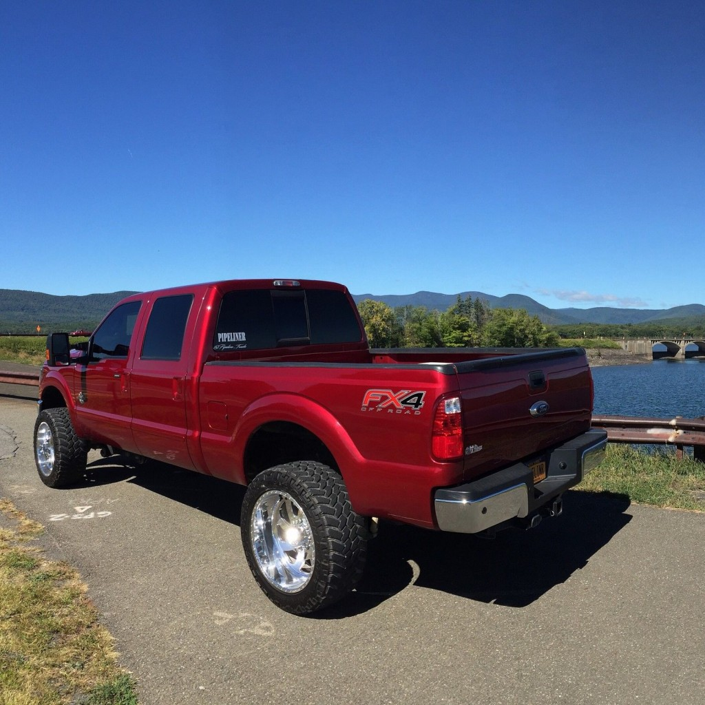 2014 Ford F250 Lariat Crew Cab 6.7L Diesel Lifted For Sale