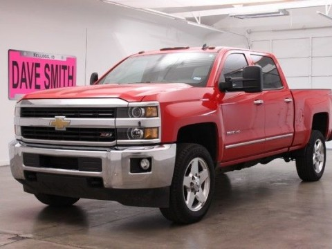 2015 Chevrolet Silverado 1500 LTZ 4×4 Crew Cab for sale
