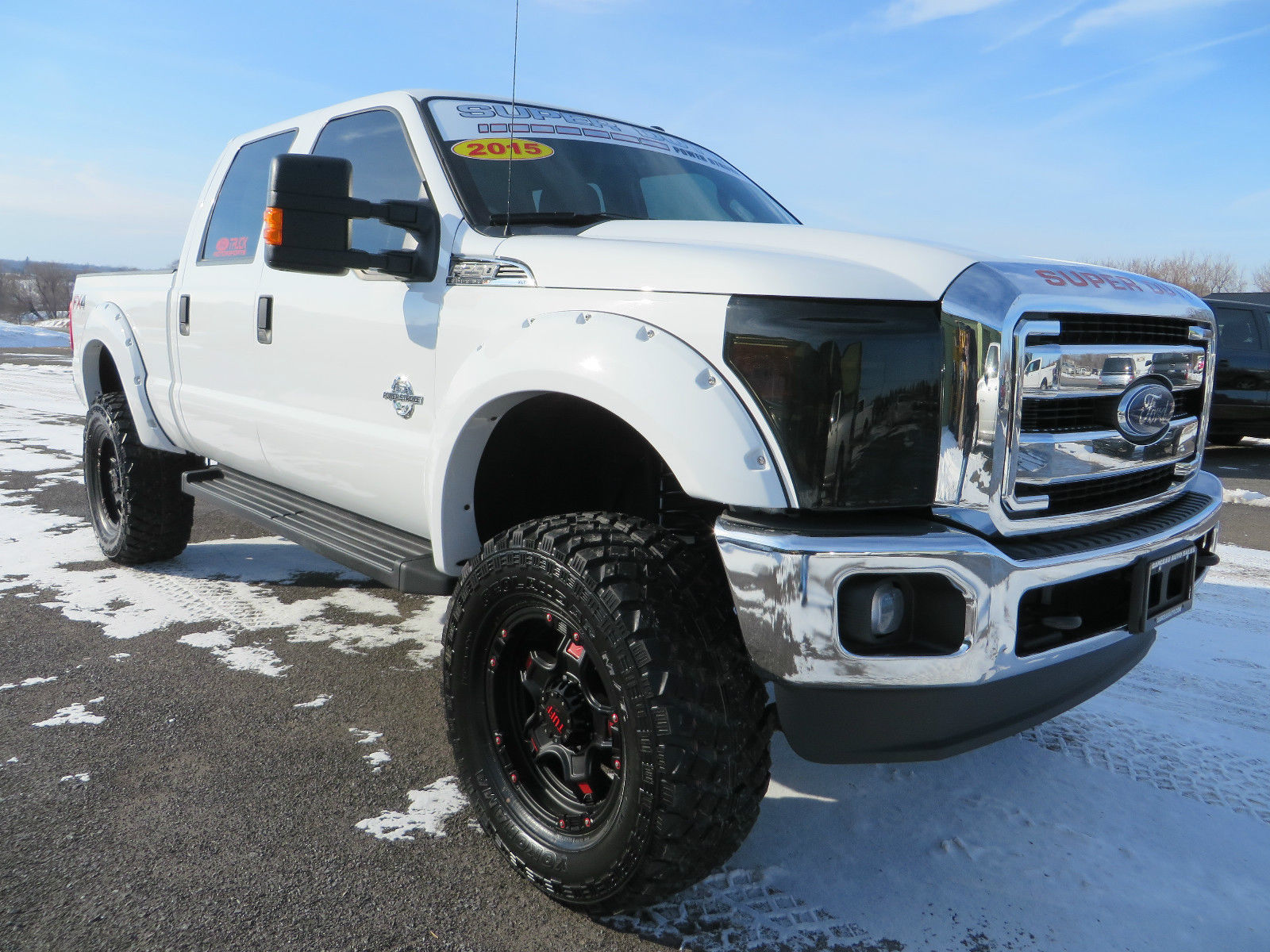 2015 Ford F250 Super Duty, XLT, 4×4, 6.7L Diesel, Supercrew, Lifted
