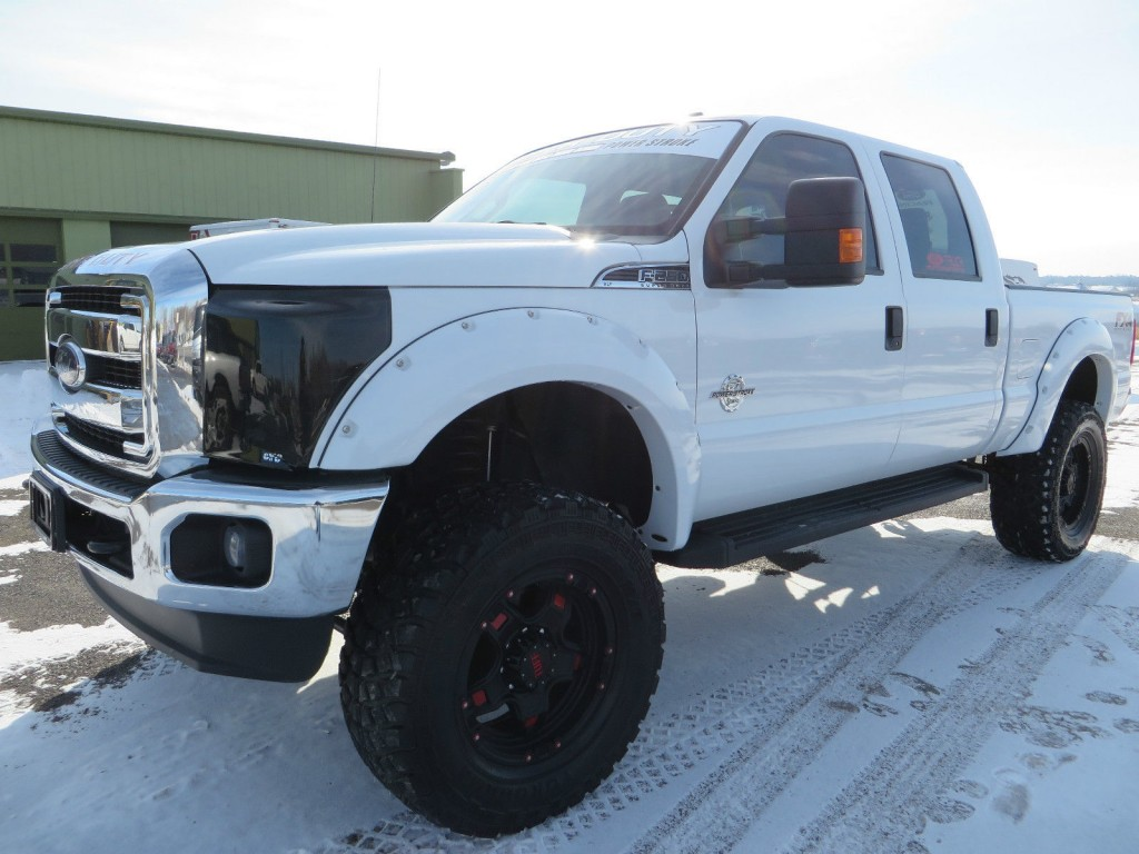 2015 Ford F250 Super Duty, XLT, 4×4, 6.7L Diesel, Supercrew, Lifted for sale