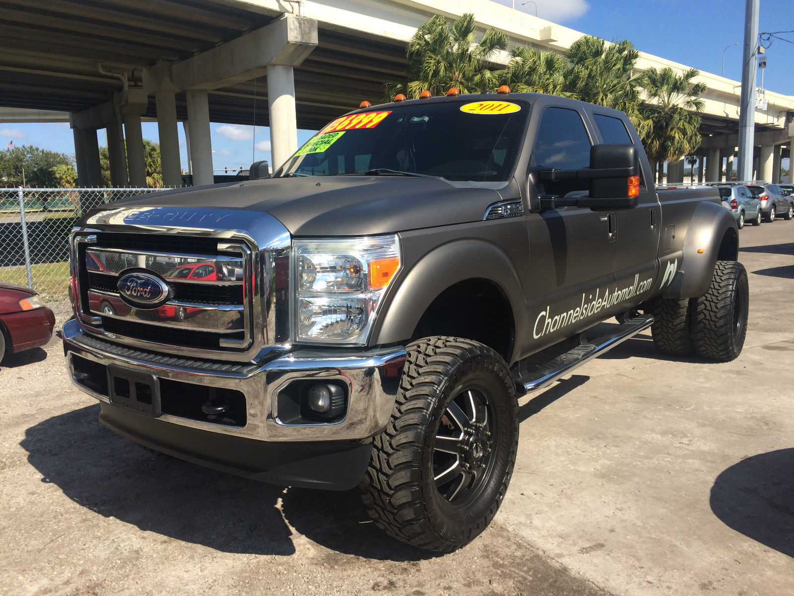 Ford F350 Lariat Super Duty Dually Crew Cab 4 215 4 For Sale