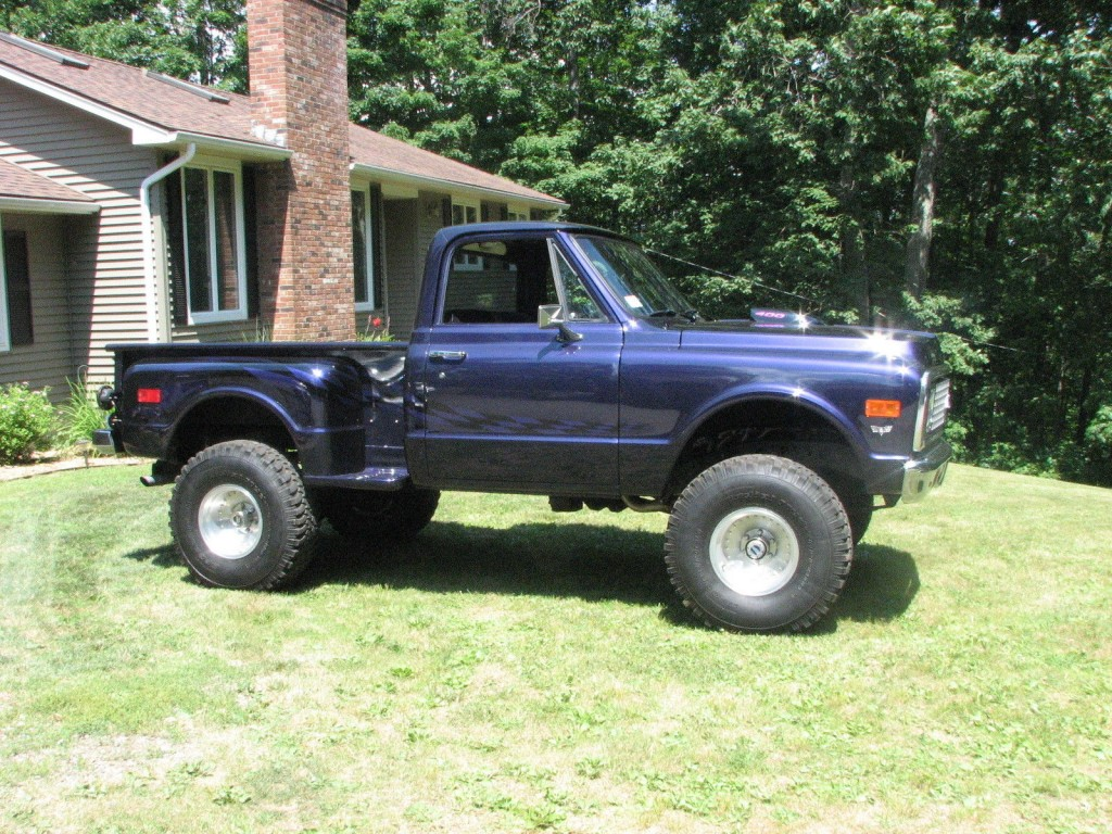 1972 Chevrolet C 10 4 215 4 Step Side Pickup Custom For Sale