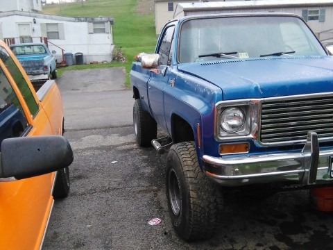 1976 Chevrolet Silverado 1500 6 in lift 35in tires for sale