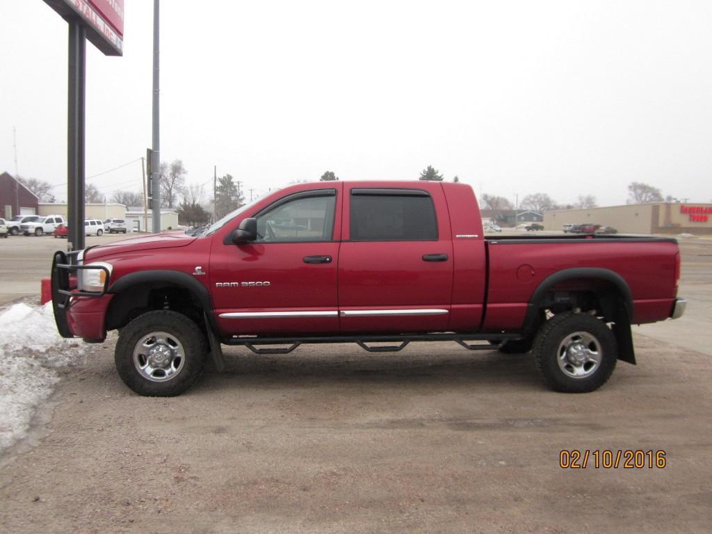 Laramie Lifted >> 2006 Dodge RAM 3500 Megacab 4X4 5.9L CUMMINS for sale