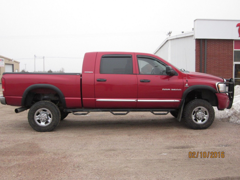2016 Dodge Ram 3500 >> 2006 Dodge RAM 3500 Megacab 4X4 5.9L CUMMINS for sale