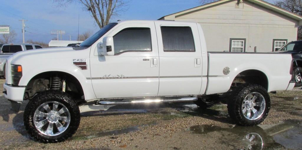 Trucks For Sale In Missouri >> 2008 ford f250 Super duty 4×4 Regency Badlander Salvage Rebuildable Lariat for sale