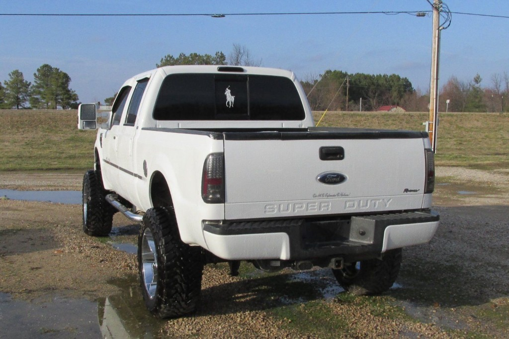 2008 ford f250 Super duty 4×4 Regency Badlander Salvage ...