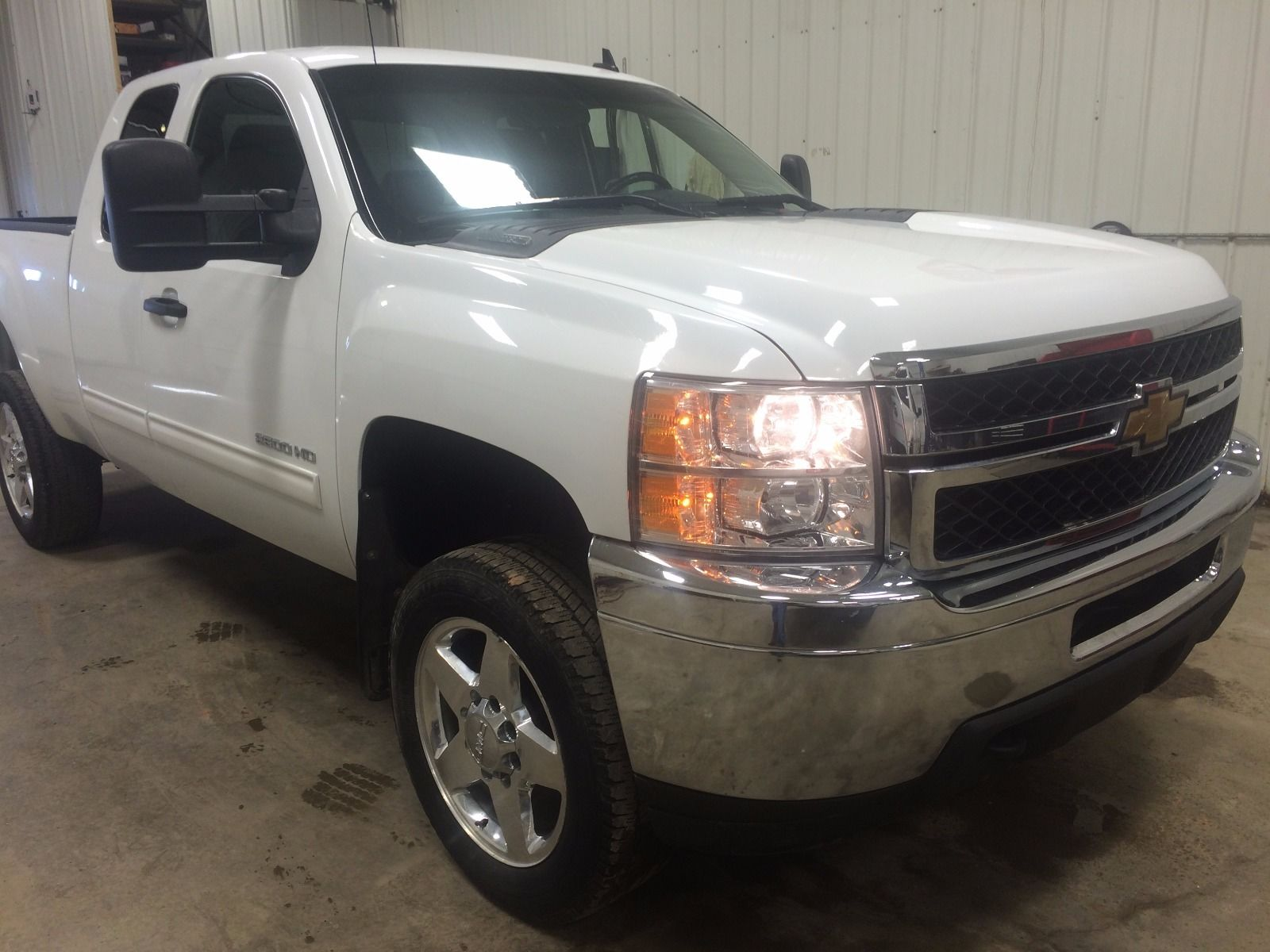 2011 Chevrolet Silverado Lt 2500hd Z71 Ext Cab Short Box