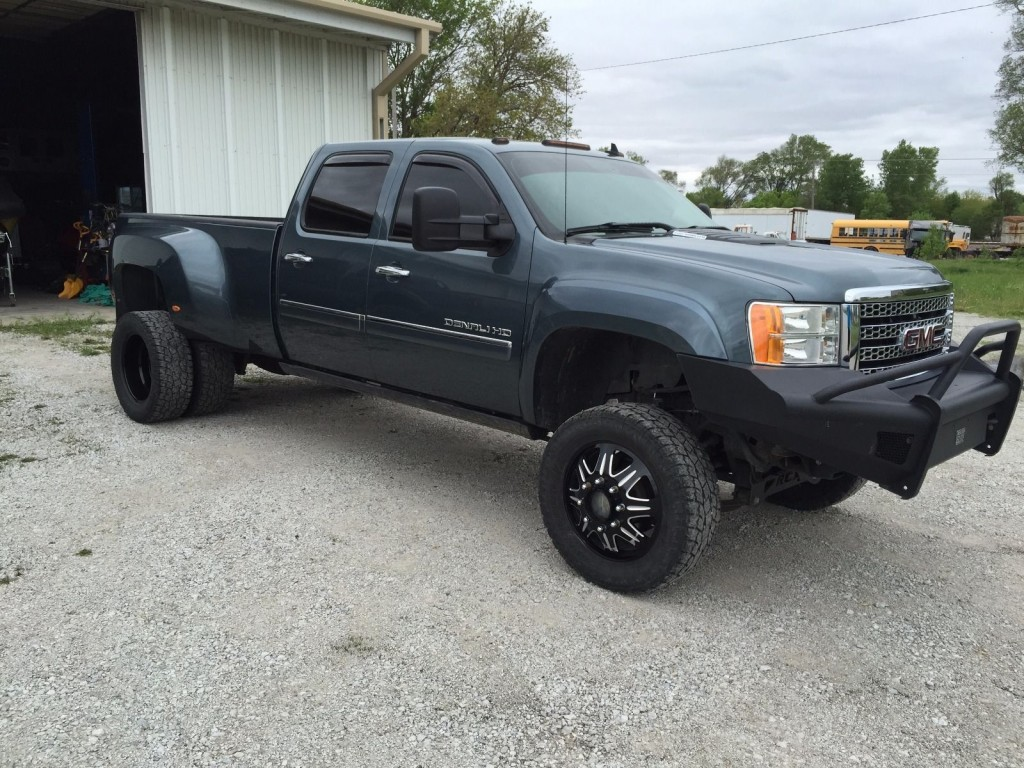 Denali Dually For Sale >> 2011 GMC Sierra 3500 Denali HD Lifted Dually for sale