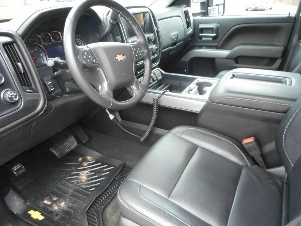 Used Fire Trucks For Sale >> 2015 Chevrolet Silverado 2500 HD LTZ Crew Cab Pickup 4 Door 6.0L for sale