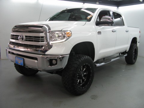 2015 Toyota Tundra 1794 Edition Crew Cab 4WD Pickup 4 Door 5.7L Lifted for sale