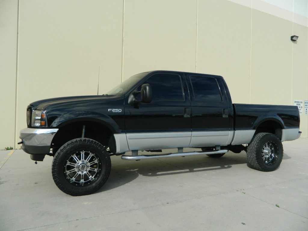Lifted 2002 Ford F350 Lariat 4x4 Cars Trucks By Autos Post