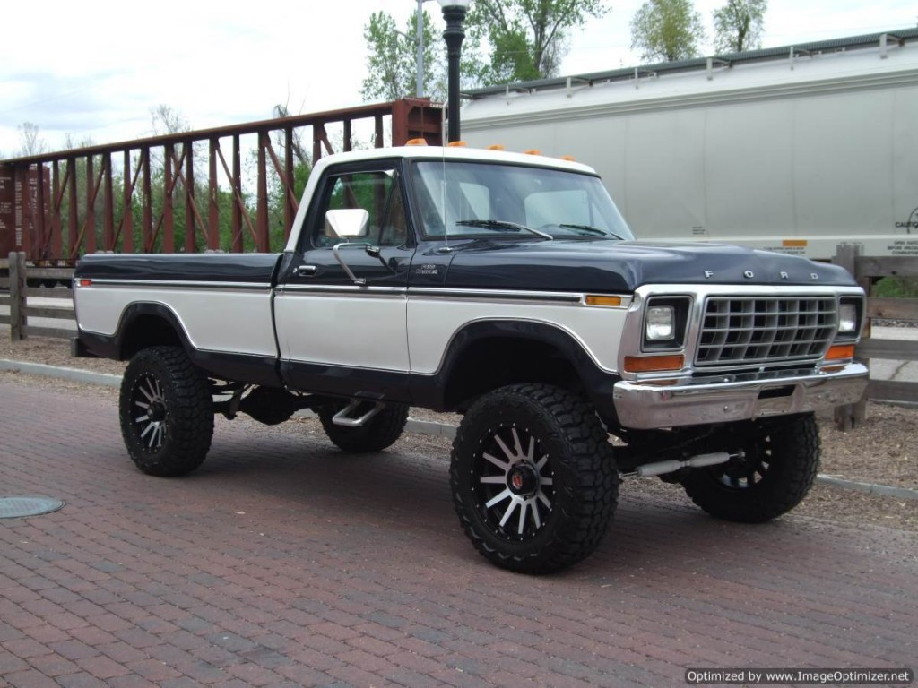 1977 Ford F 250 Ranger Lifted 460 For Sale