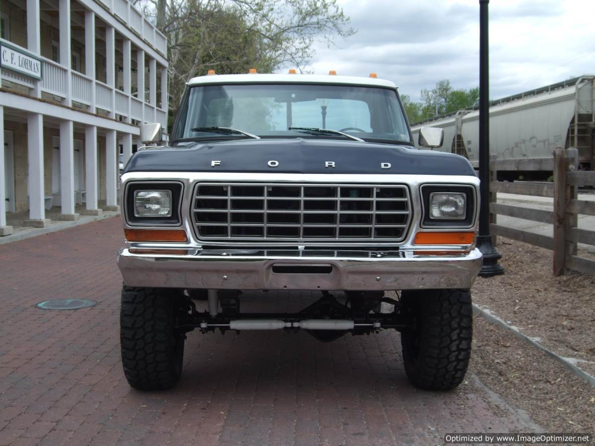 1977 Ford F 250 Ranger Lifted 460