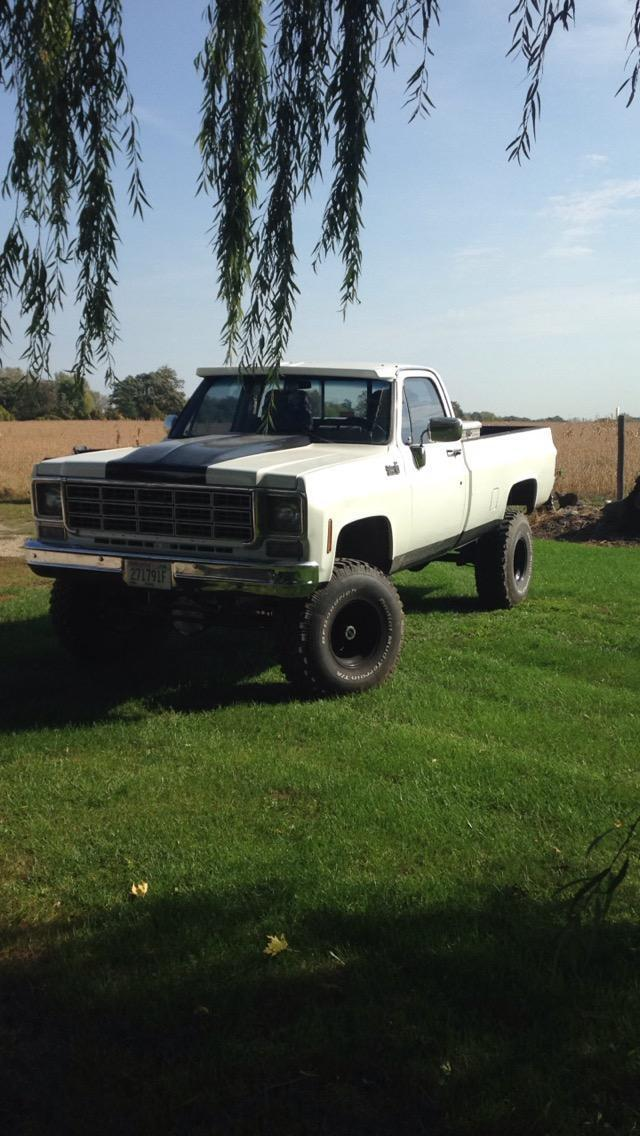 1978 Chevy K10 Scottsdale 1500 2500 Pickup Lifted for sale