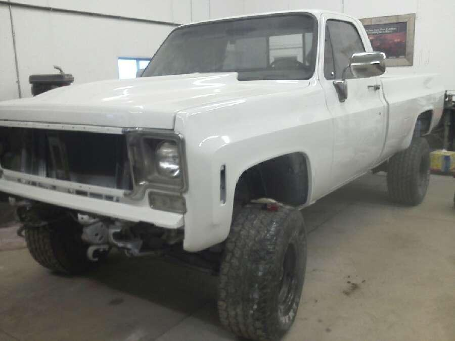 1978 Chevy K10 Scottsdale 1500 2500 Pickup Lifted