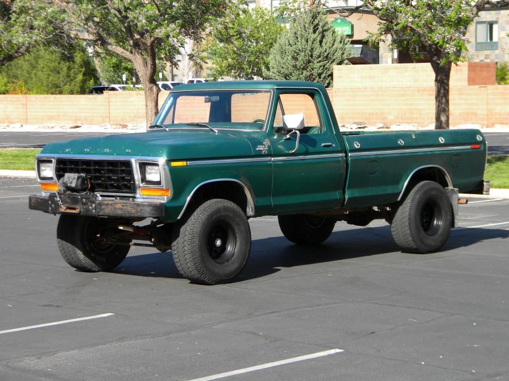 1979 Ford F 150 Ranger XLT 4X4