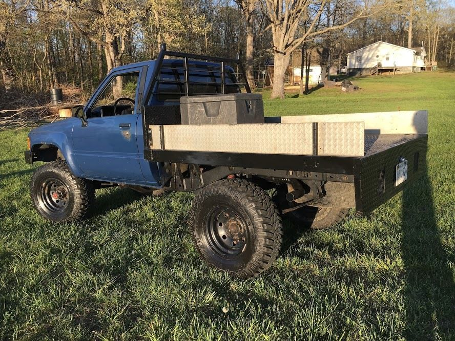 1985 Toyota Pickup 4 215 4 Turbo Diesel For Sale