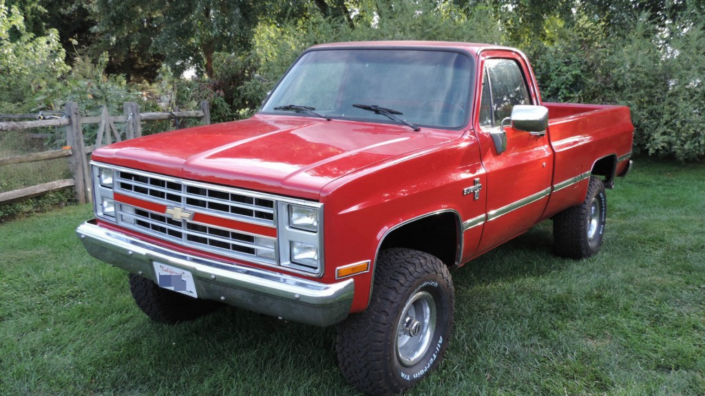 trucks chevrolet 1987 k10 pickup lifted chevy truck 4x4 silverado 1973 wilwood kits