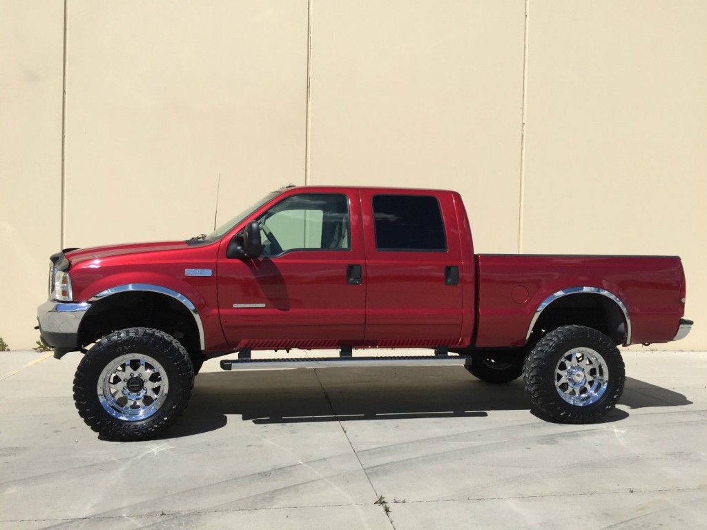 2001 Ford F 350 Crew Shortbed 4×4 Lifted