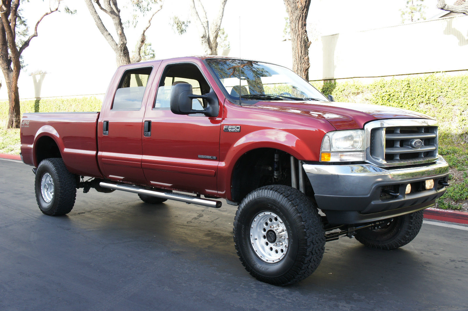 2002 ford f 250 78k diesel 4x4 for sale