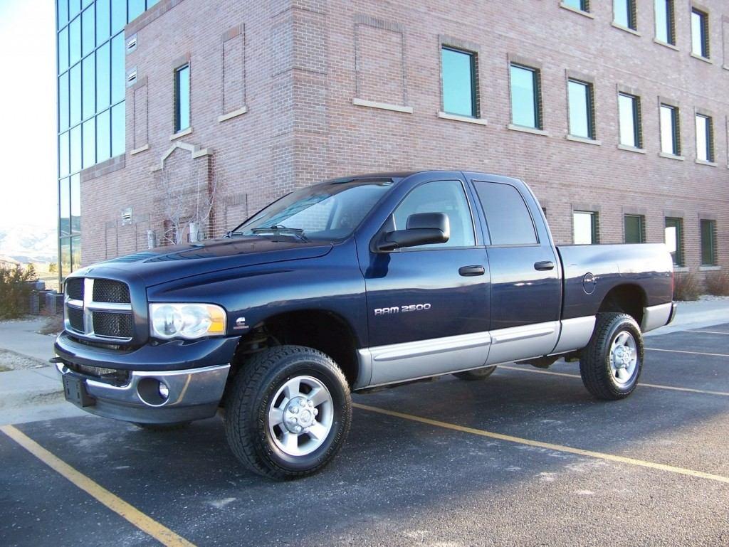 6 Door Ram Truck >> 2003 Dodge Ram 2500 Cummins Turbo Diesel 4×4