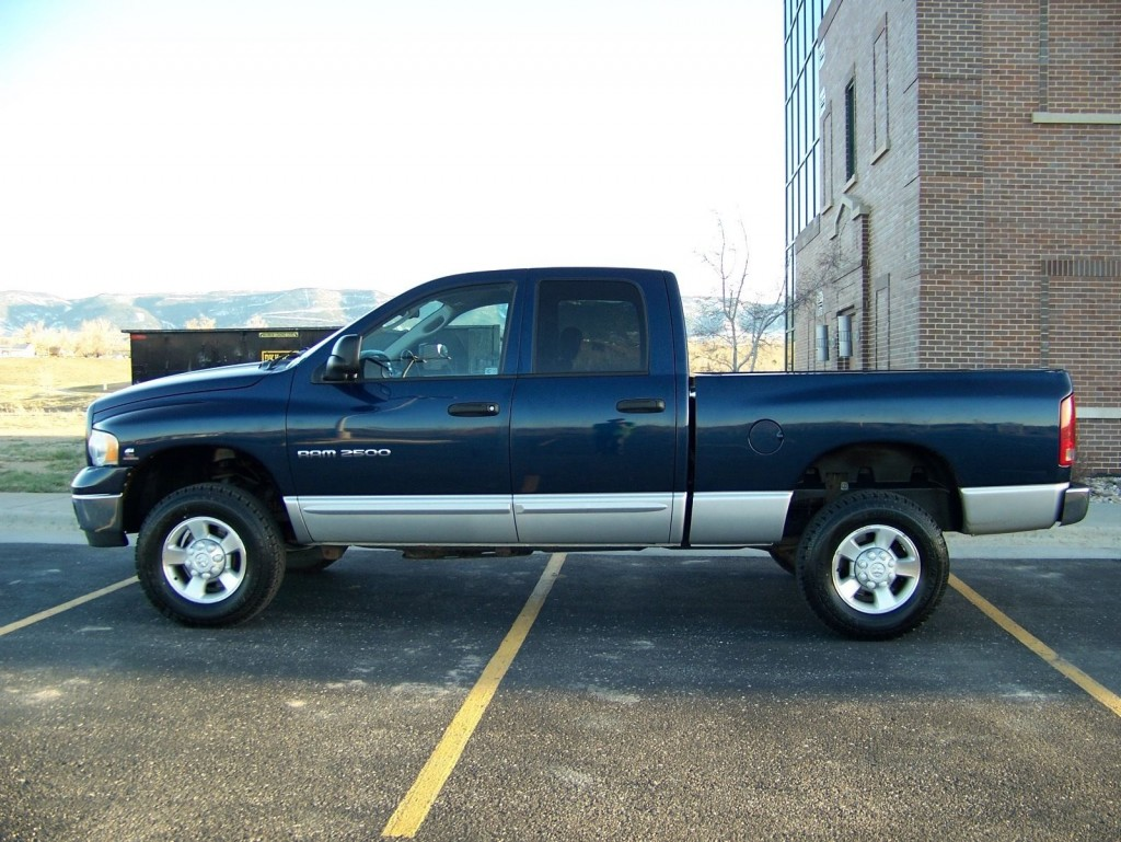 2003 dodge ram 2500 cummins turbo diesel 4 4 crew cab for sale. Black Bedroom Furniture Sets. Home Design Ideas