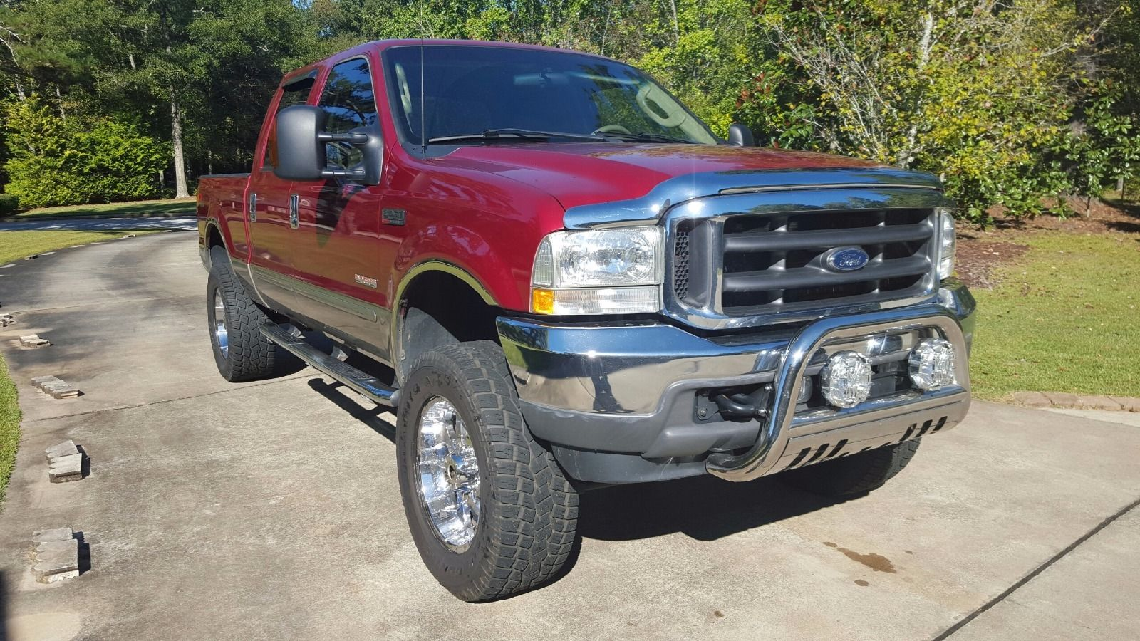 2003 ford f250 4 4 diesel crew cab automatic for sale. Black Bedroom Furniture Sets. Home Design Ideas