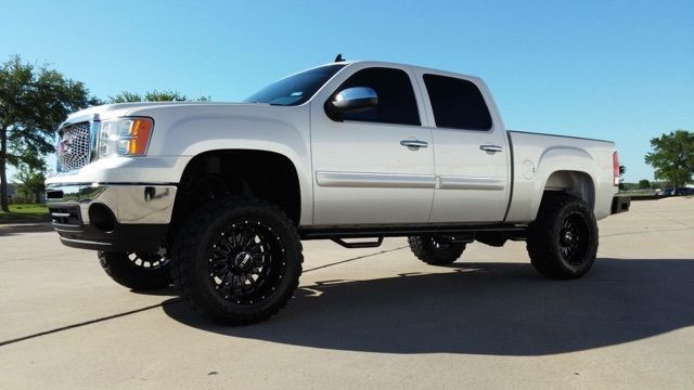 Lifted Trucks For Sale In Texas >> 2011 GMC Sierra 1500 SLE Crew Cab Pickup 4 Door 5.3L for sale