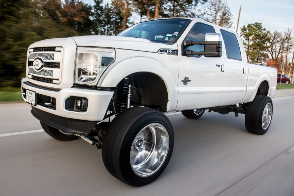 2016 Tahoe Lifted >> 2013 Ford F250 Platinum Show Truck for sale