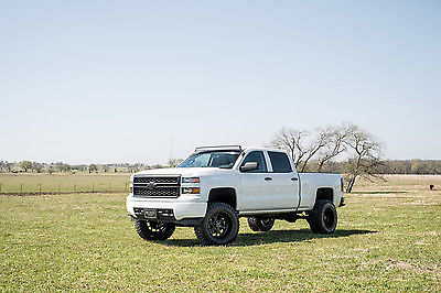 2014 Chevrolet Silverado 1500 5.3 7″ lift 4×4 Z71 Crew Cab for sale