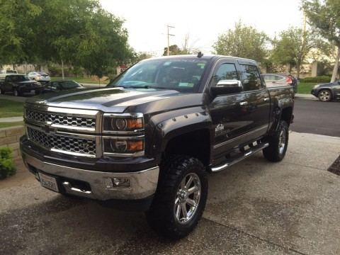 2014 Chevy Silverado Rocky Ridge Edition for sale