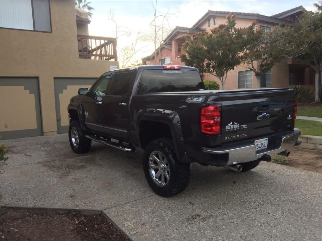2008 Chevy Silverado Lifted >> 2014 Chevy Silverado Rocky Ridge Edition for sale