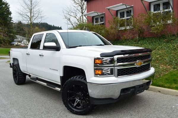 2015 chevrolet silverado 1500 5 3l v8 lifted 4 4 for sale. Black Bedroom Furniture Sets. Home Design Ideas