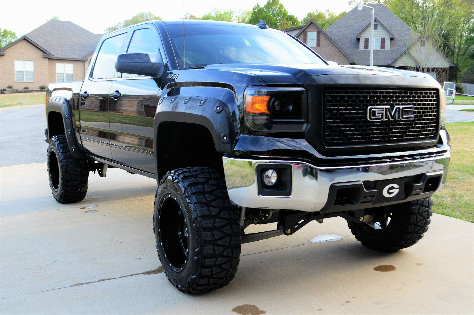 Gmc Duramax Diesel >> 2015 GMC Sierra 1500 Lifted for sale