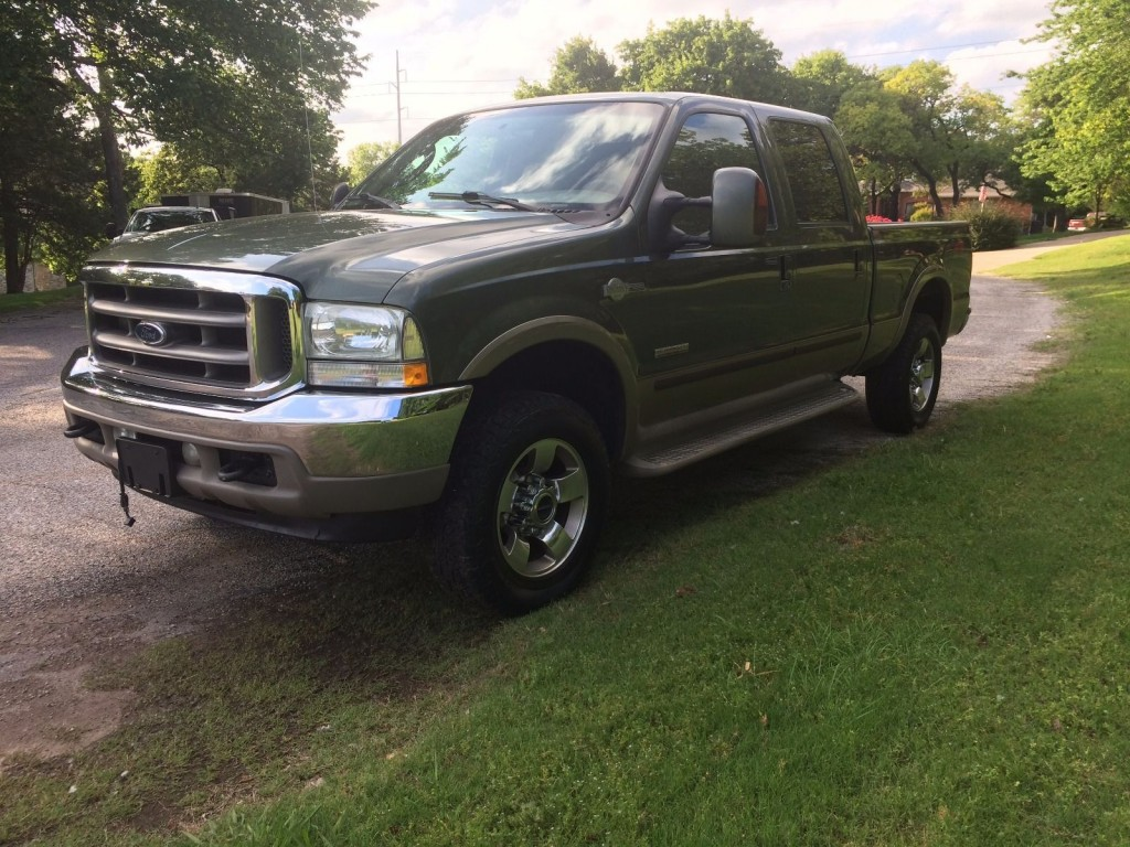 2004 ford f 250 super duty crew cab king ranch 6 0 diesel for sale. Black Bedroom Furniture Sets. Home Design Ideas