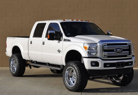 2016 Ford F 250 Platinum Diesel Lifted 4×4 for sale