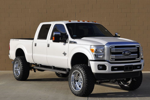 2016 Ford F 250 Platinum Diesel Lifted 4 215 4 For Sale