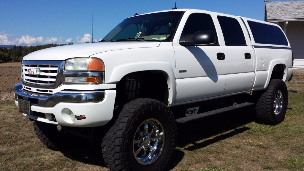 2003 gmc sierra 2500hd duramax 4 4 for sale. Black Bedroom Furniture Sets. Home Design Ideas