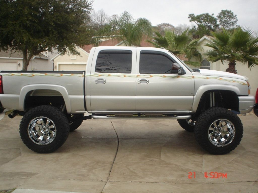 2006 Chevrolet Silverado 1500 Crew Cab Lifted For Sale