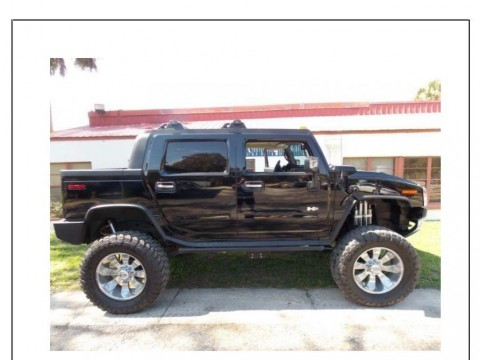 2006 Hummer H2 Luxury SUT Crew Cab Lifted for sale