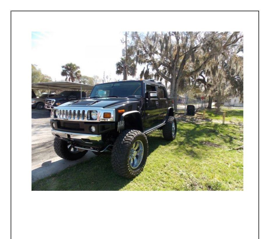 2006 Hummer H2 Luxury SUT Crew Cab Lifted